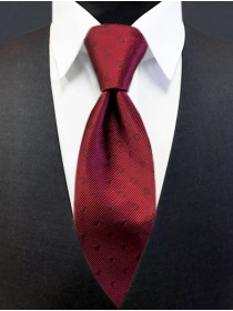 'Allure' Tonal Dot Tie - Wine
