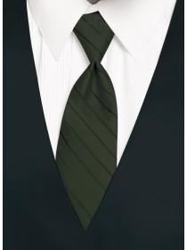 'Larr Brio' Simply Solid Tie - Tarragon