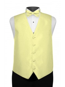 'Larr Brio' Portofino Full Back Vest - Yellow