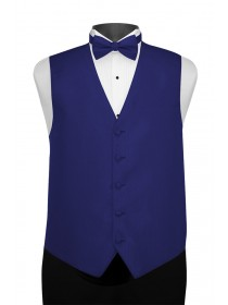 'Larr Brio' Portofino Full Back Vest - Royal Blue