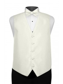 'Larr Brio' Portofino Full Back Vest - Diamond White