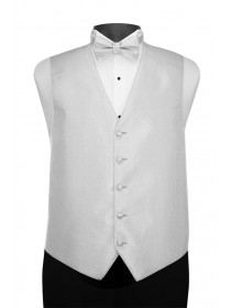 'Larr Brio' Portofino Full Back Vest - White