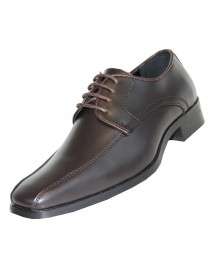 'Tux-5' Matte Finish Brown Shoe