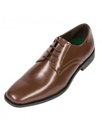 Matte Finish Brown Shoe