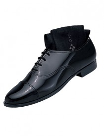 'Classic' Black Captoe Shoe