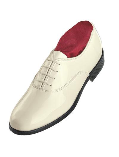 'Jazz Oxford' Ivory Shoe