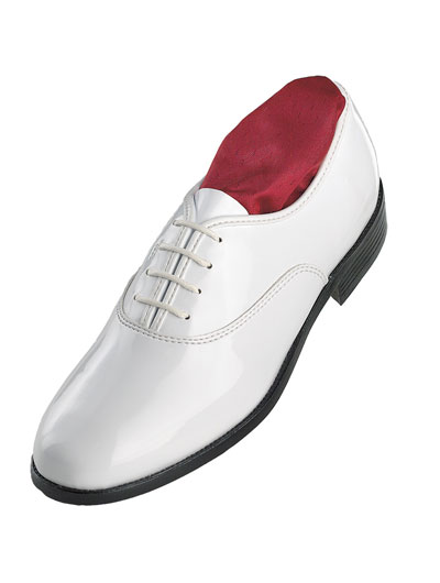 'Jazz Oxford' White Shoe