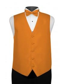 'Larr Brio' Portofino Full Back Vest - Tangerine