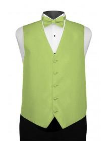 'Larr Brio' Portofino Full Back Vest - Lime