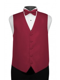 'Larr Brio' Portofino Full Back Vest - Passion