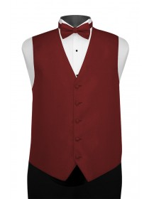 'Larr Brio' Portofino Full Back Vest - Apple