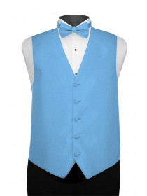 'Larr Brio' Portofino Full Back Vest - Blue Ice
