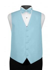 'Larr Brio' Portofino Full Back Vest - Turquoise