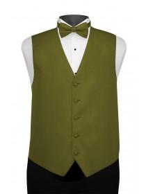 'Larr Brio' Portofino Full Back Vest - Olive