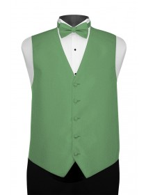 'Larr Brio' Portofino Full Back Vest - Kelly Green