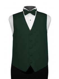 'Larr Brio' Portofino Full Back Vest - Holly Green