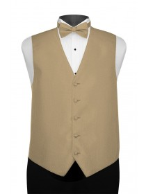 'Larr Brio' Portofino Full Back Vest - Golden