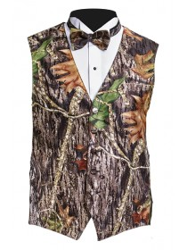 'Mossy Oak' Camouflage Full Back Vest