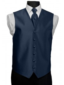 'After Six' Aries Full Back Vest - Serene