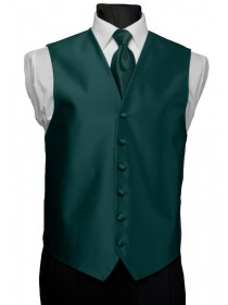 'After Six' Aries Full Back Vest - Teal