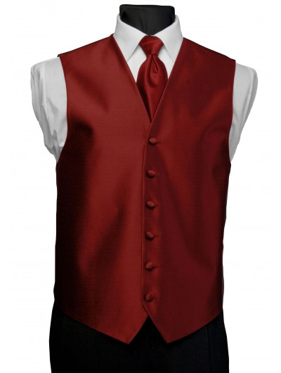 'After Six' Aries Full Back Vest - Flame