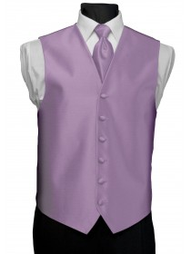 'After Six' Aries Full Back Vest - Lilac