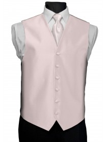 'After Six' Aries Full Back Vest - Pink