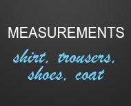 Measurements Tuxedo